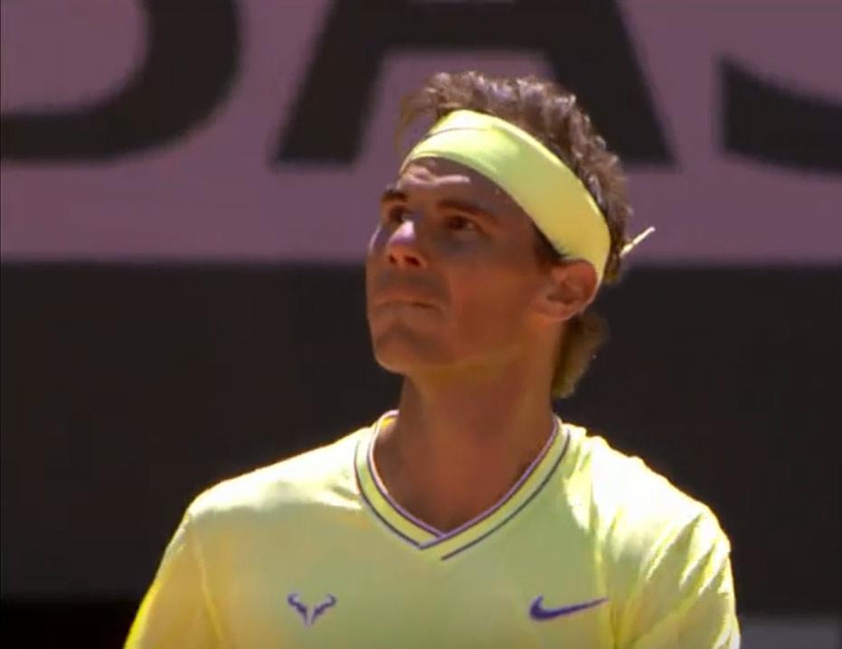 纳达尔发球直接得分 第12次挺进法网决赛