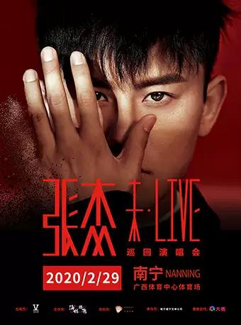 2020张杰南宁演唱会