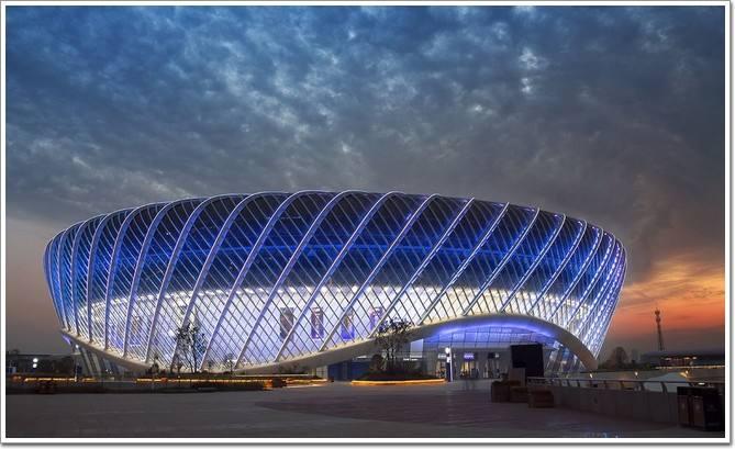 光谷国际网球中心中央球场