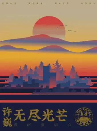 许巍2020太原演唱会